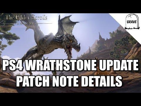 (PS4) The Elder Scrolls Online Update 1.45 Patch Note Details. Wrathstone DLC