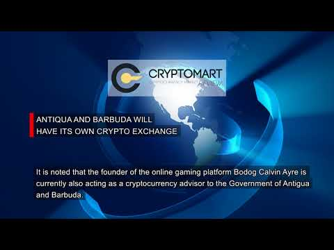 Antigua and Barbuda Will Have Its Own Crypto Exchange
