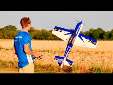 DEMO - RC E-FLITE SUKHOI SU-29MM GEN 2 BNF BASIC SAFE/PANIC RECOVERY TECH DEANO HORIZON HOBBY - 2016