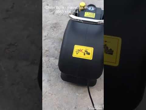 Máy Rửa Xe ZNC XL - đen Có Chỉnh áp ( áp Lực 130 Bar)