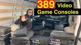 I Bought 389 Video Game Consoles for $10/ea!