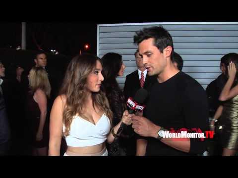 Danielle Robay s Blake Griffin, Stephen Colletti, Matt Lanter at 2014 Maxim Hot 100 Party