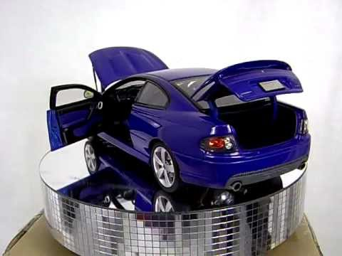 Pontiac Gto Impulse Blue Cast 1 18 Gmp 2006 Scale