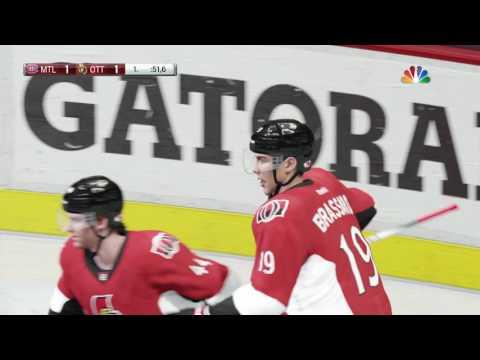 PS4 NHL17 Montreal vs Ottawa Hrajto liga