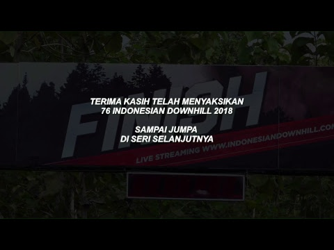 76 Indonesian Downhill 2018 Seri 1 - Bukit Hijau Bikepark Imogiri 22 April 2018