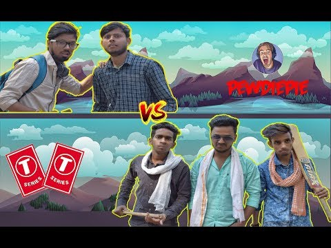 T-Series Vs Piewdiepie (Comedy Story) (Funny Video) || RG Youngsters