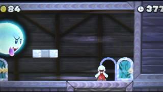 New Super Mario Bros 2 Walkthrough - World 6-Ghost House & Secret Exit - Part 51