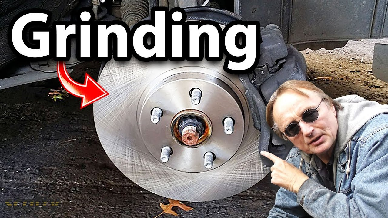 How To Fix Grinding Brakes On Your Car Rotors Youtube