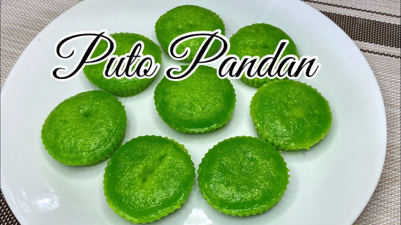 PUTO PANDAN | USING GLUTINOUS RICE FLOUR ????