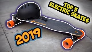 Top 5 Best Electric Skates in 2019