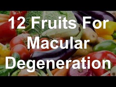 Macular degeneration foods