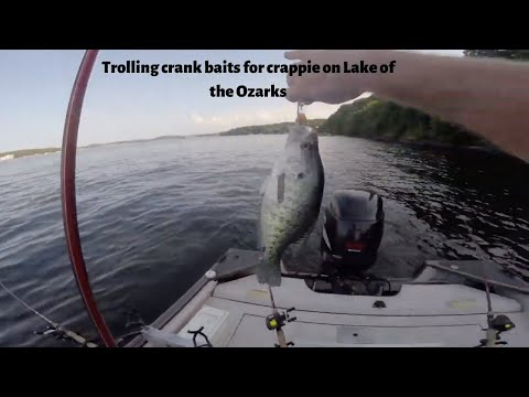 Trolling Crankbaits for Crappie on Lake of the Ozarks #1 (6-16-16)