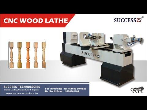 Amazing CNC Wood Lathe Machine - CNC Lathe Machine Manufacturer - Success Technologies