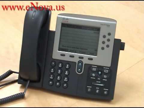 Cisco Ip Phone 7962 Viewing Missed Calls Youtube