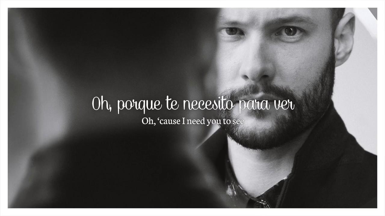 Calum Scott You Are The Reason Letra En Inglés Y Español Youtube
