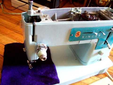 Vintage Singer Electric Sewing Machine Model 347K