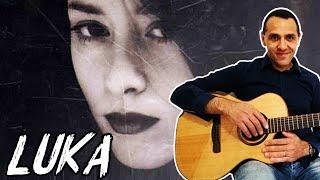Luka - Suzanne Vega - Easy Guitar Lesson - Chitarra Facile