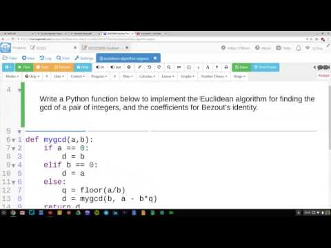 6G5Z3006 Number Theory 07: Programming Euclidean Algorithm, Primes