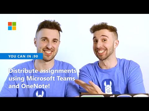 You Can Distribute Assignments To Your Students Using Microsoft Teams And OneNote!