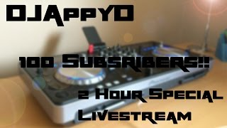 Live Mix - DJAppyD - UK (Happy) Hardcore - 09/04/15 (100 Subscribers Special)