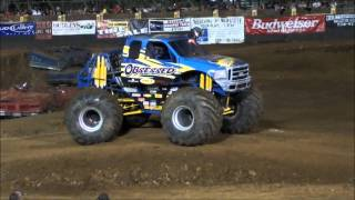 2010 West Coast Monster Truck Nationals Free Style Red Bluff CA,