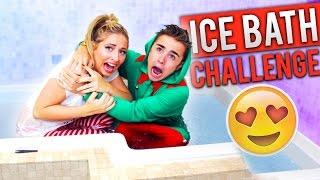 EXTREME ICE BATH CHALLENGE!!  (COUPLES EDITION!)