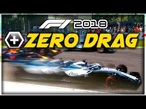What Happens When An F1 Car Has ZERO DRAG?! - F1 2018 Game Experiment |