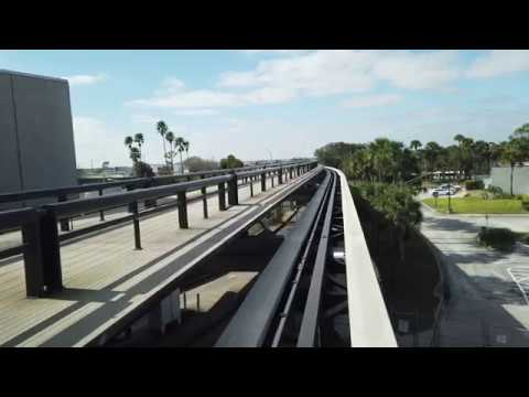 Orlando, Florida - Orlando International Airport People Movers (2019)
