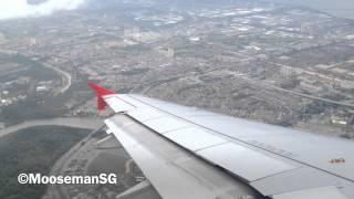 Video ✈ AirAsia Landing at Penang download MP3, 3GP, MP4, WEBM, AVI, FLV Juli 2018
