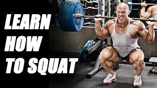 How to Squat with Ben Pakulski, BodyPower Muscle Building Session