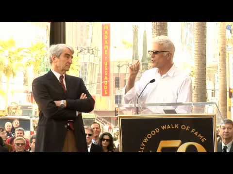 Sam Waterston Hollywood Walk of Fame star Ceremony
