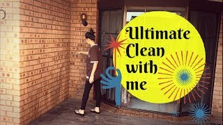 Ultimate clean with me 2018 | Cleaning Motivation