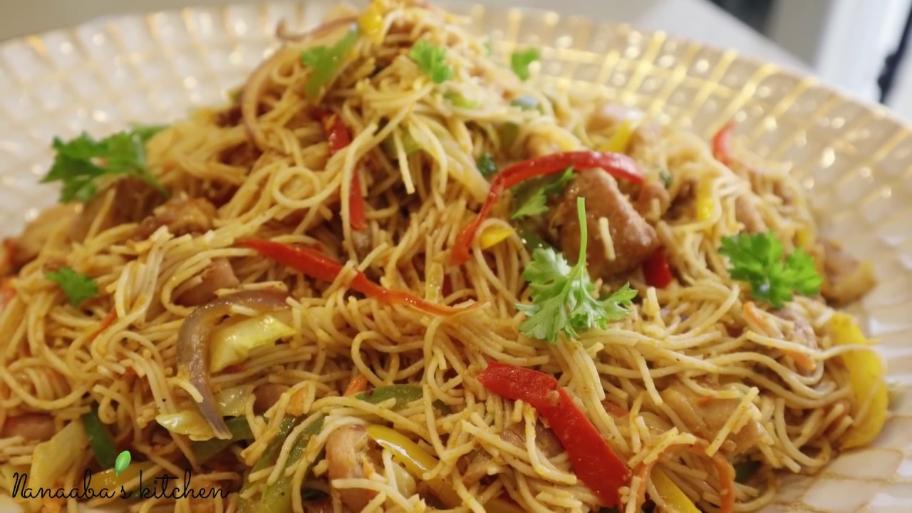 Download Tasty and Simple Stir Fry ChicKen NooDles