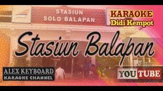 Download STASIUN BALAPAN ~ Karaoke Tanpa Vokal ~ Didi Kempot