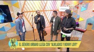 """Te Veo A La Una Tv Perú - Alkilados Y Bonny Lovy Nos Trajeron """"ella Me Persigue"""" - 19 07 2018"""