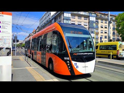 Trolleybus VanHool Exqui.City