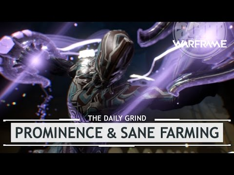 Warframe: Prominence Bundle & Sane Farming Tips [thedailygrind]