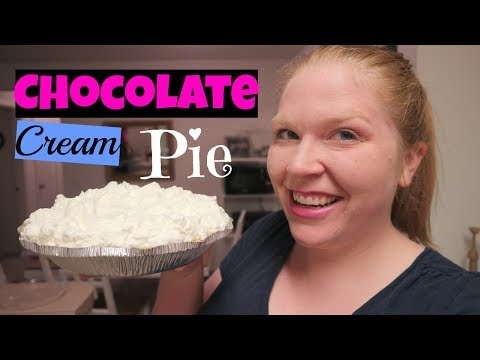 Best Ever Chocolate Cream Pie Recipe! Family Favorite!