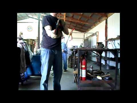 Making a steel pistol plinker target @ home