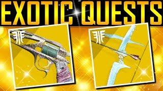 Destiny 2 - NEW EXOTIC QUESTS! New Secrets!