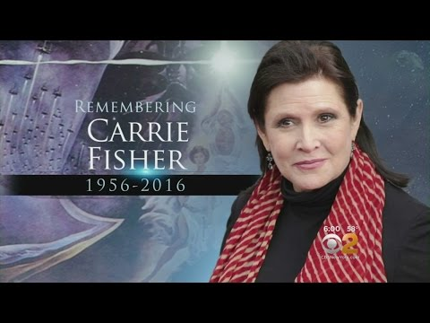 Carrie Fisher Remembered As A Talented, Complex Artist