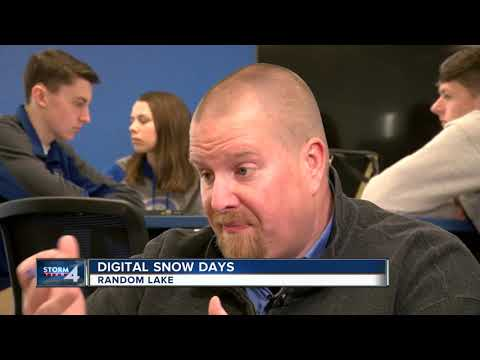 Random Lake school district makes snow days digital