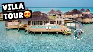 MALDIVES MOST LUXURIOUS RESORT | Soneva Jani Overwater Villa thumbnail