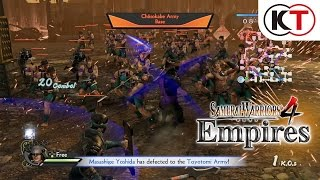 SAMURAI WARRIORS 4 EMPIRES - 8-CHARACTER BATTLE GAMEPLAY