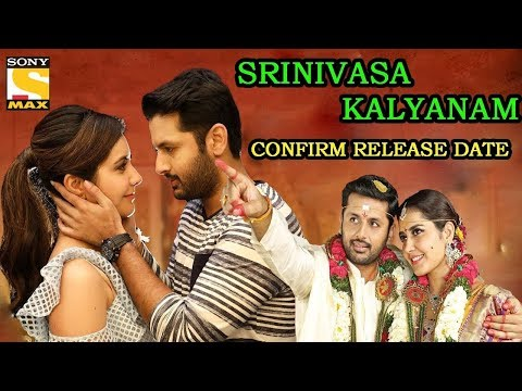 srinivasa-kalyanam-hindi-dubbed-movie-|-nitin-|-rashi-khanna-|-confirm-release-date-|-sony-max