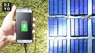 휴대용 태양광 고속충전기 만들기! (엄청 빠르게 충전됨…