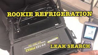 HVAC REFRIGERATION:  Finding leaks with the Inficon DTEK Stratus and Bacharach H10