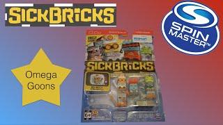 NEW Spin Master Sick Bricks -  Omega Goons