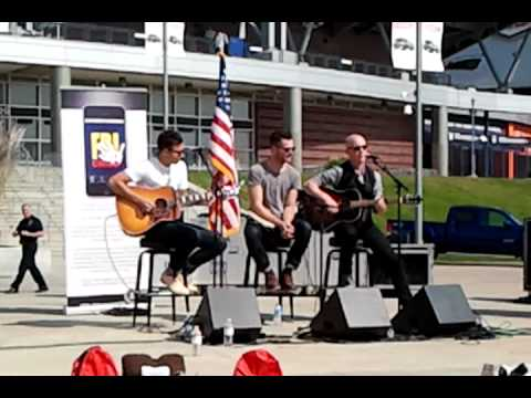 The Fray, free concert at Sports Authority Field at Mile High