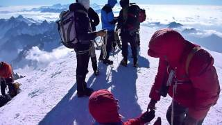 "Mont Blanc 4810 m npm."" Aiguille du Gouter "" Full Story HD Movie by Heliasz"